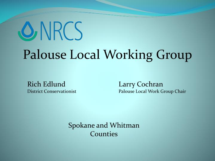 Palouse Local Working Group