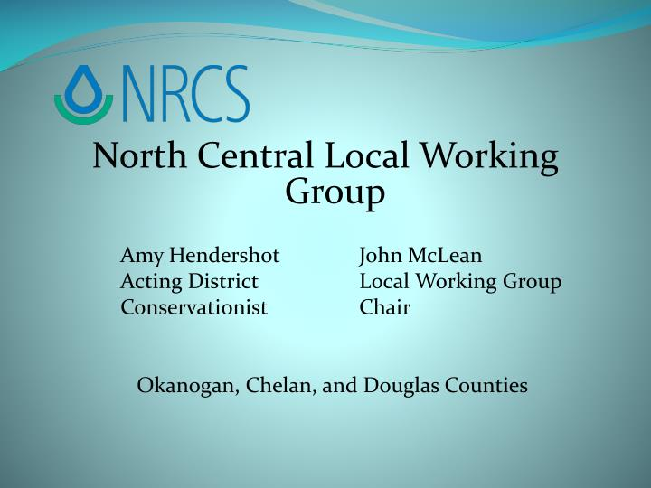 North Central Local Working Group