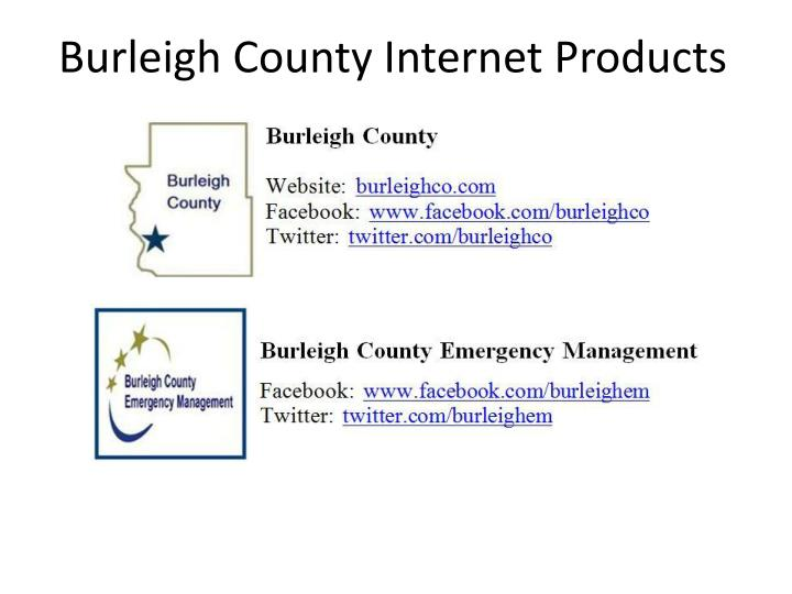 Burleigh County Internet Products