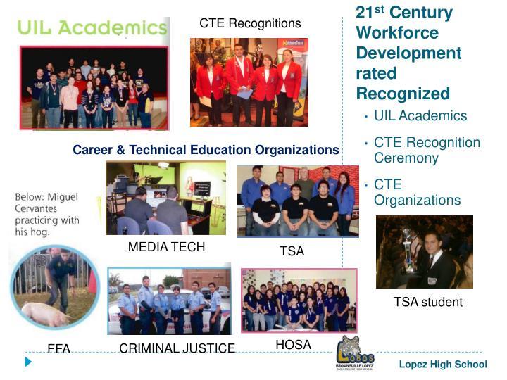 CTE Recognitions