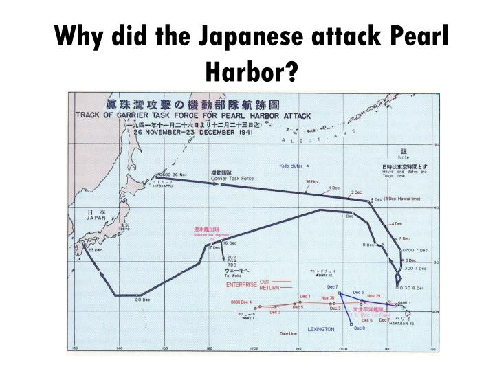 why did the japanese attack pearl harbor