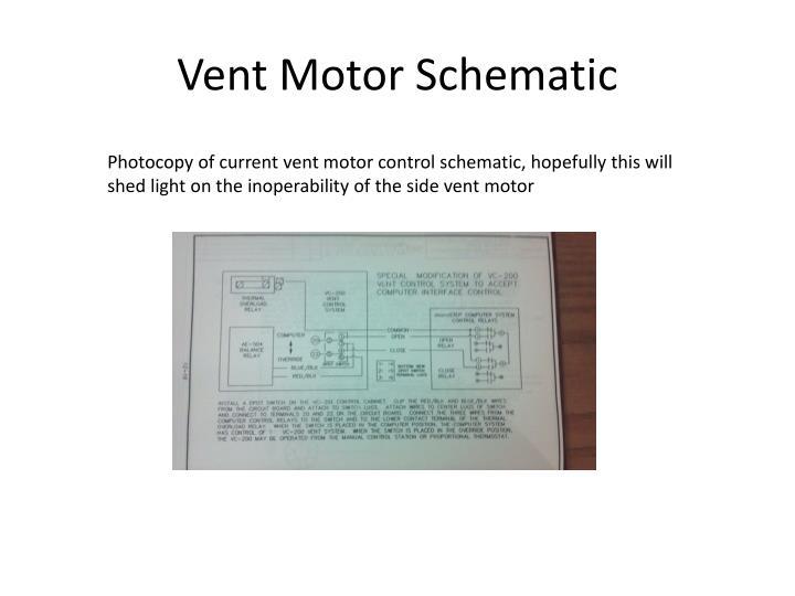 Vent Motor Schematic