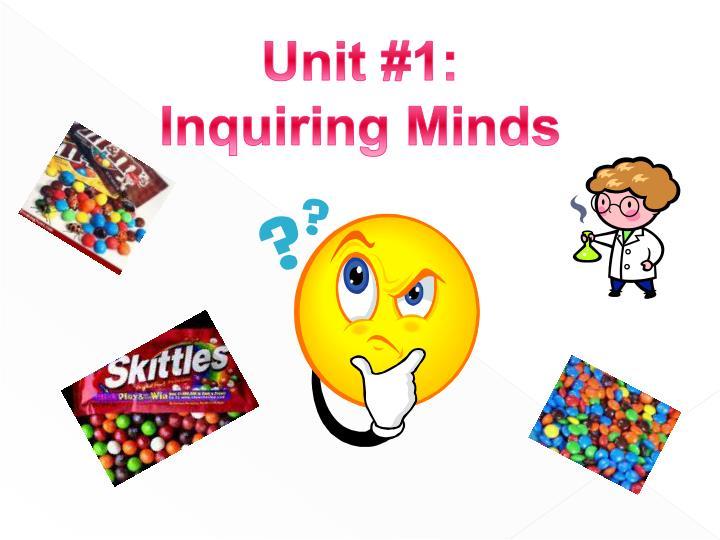 Unit #1: