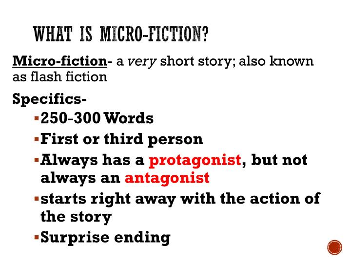 What is Micro-Fiction?