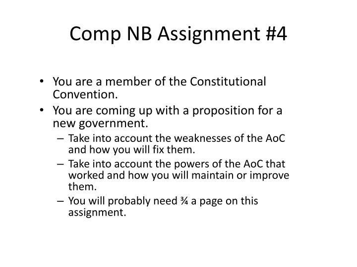 Comp NB