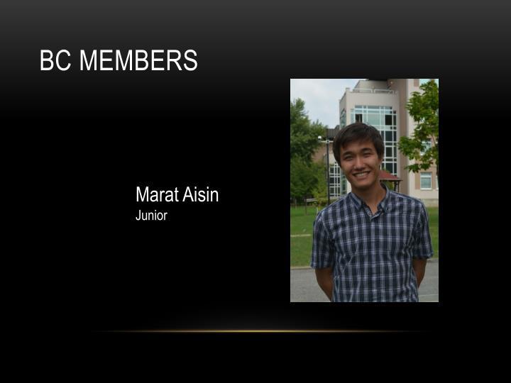 BC members