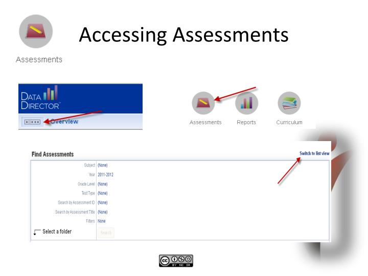 Accessing Assessments