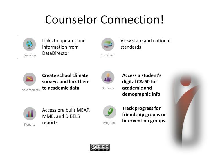 Counselor Connection!