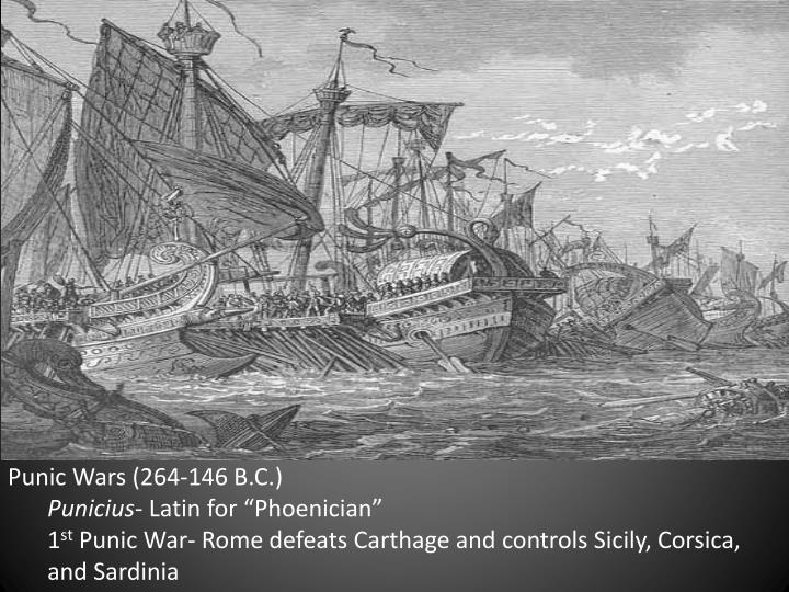 Punic Wars (264-146 B.C.)