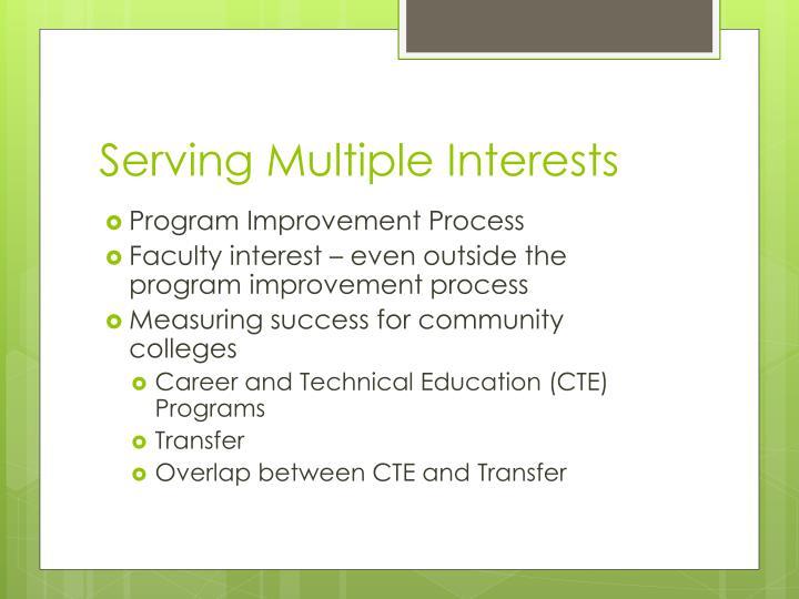 Serving Multiple Interests