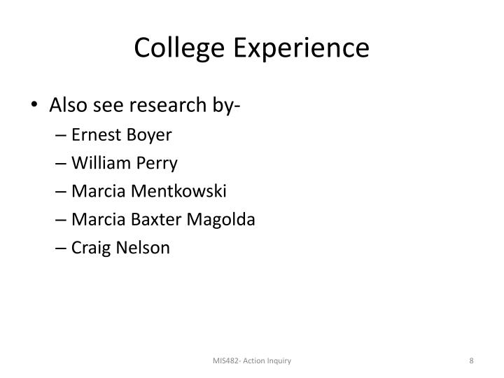 College Experience