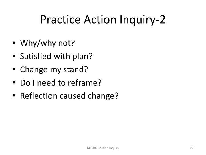 Practice Action Inquiry-2