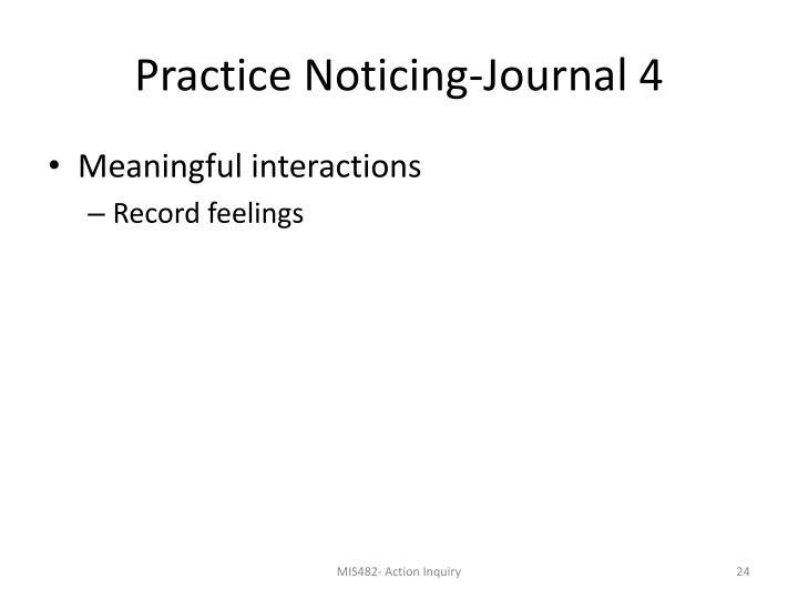 Practice Noticing-Journal 4