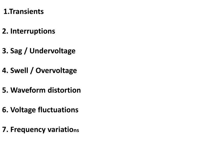 1.Transients