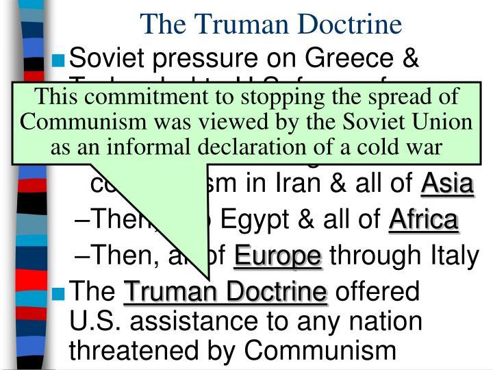 The Truman Doctrine