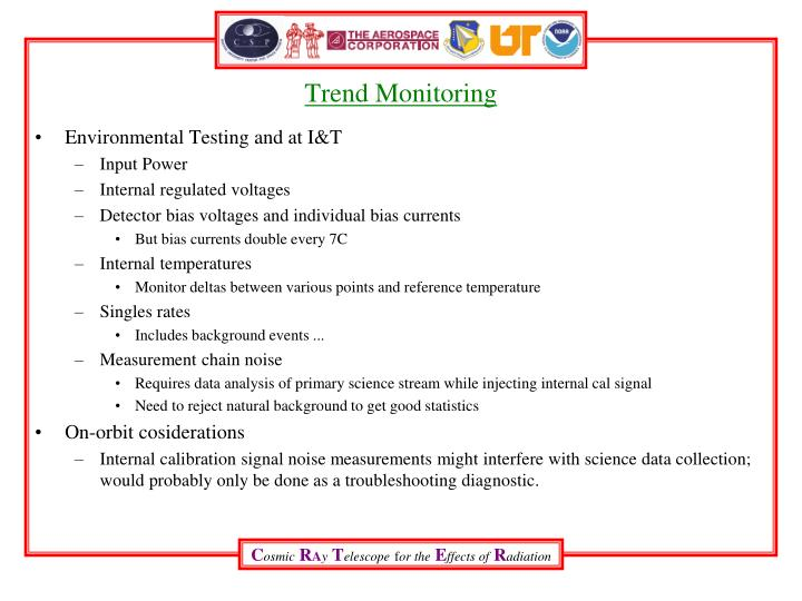 Trend Monitoring