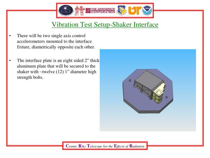 Vibration Test Setup-Shaker Interface