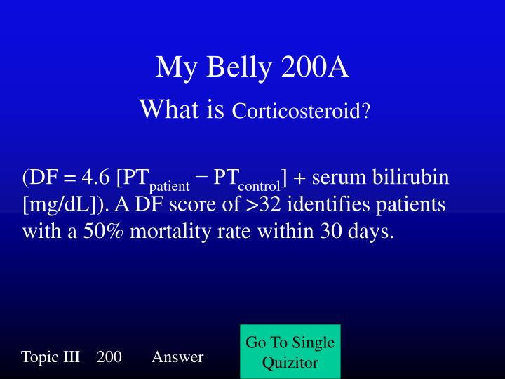 My Belly 200A