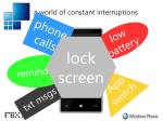 a world of constant interruptions