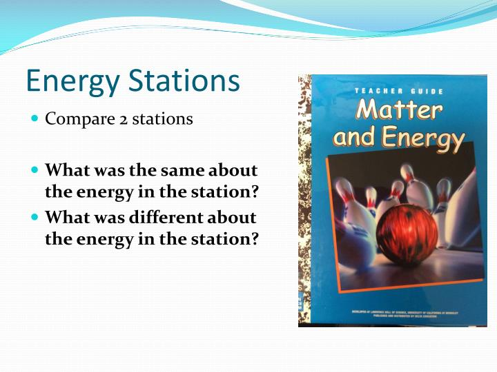 Energy Stations