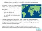affiliated network for social accountability ansa