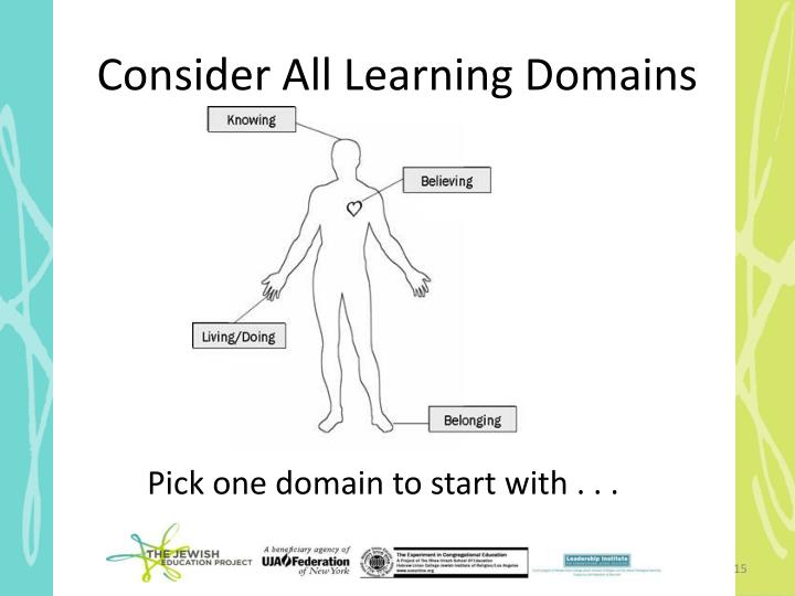 Consider All Learning Domains