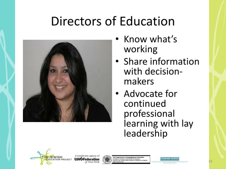 Directors of Education