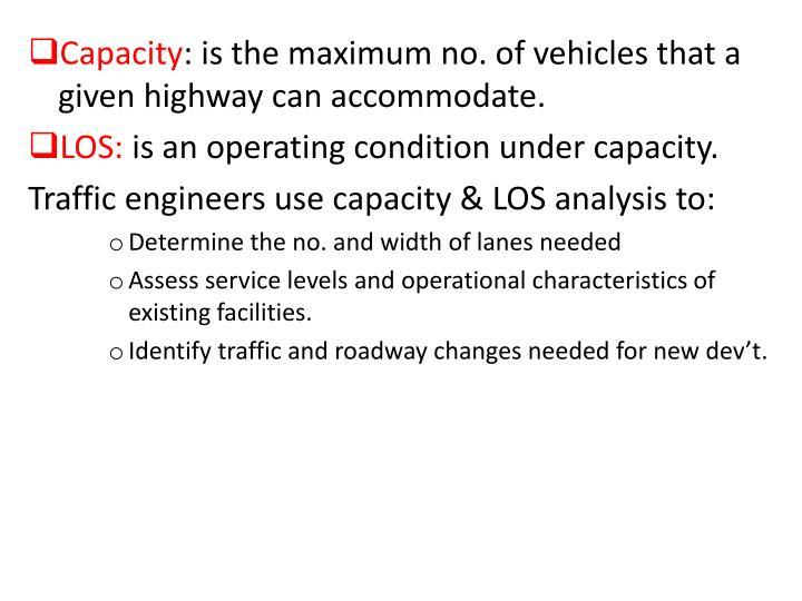 Capacity