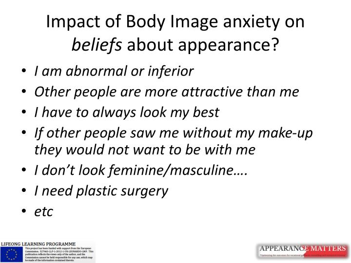 Impact of Body Image anxiety on