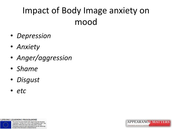 Impact of Body Image anxiety on mood