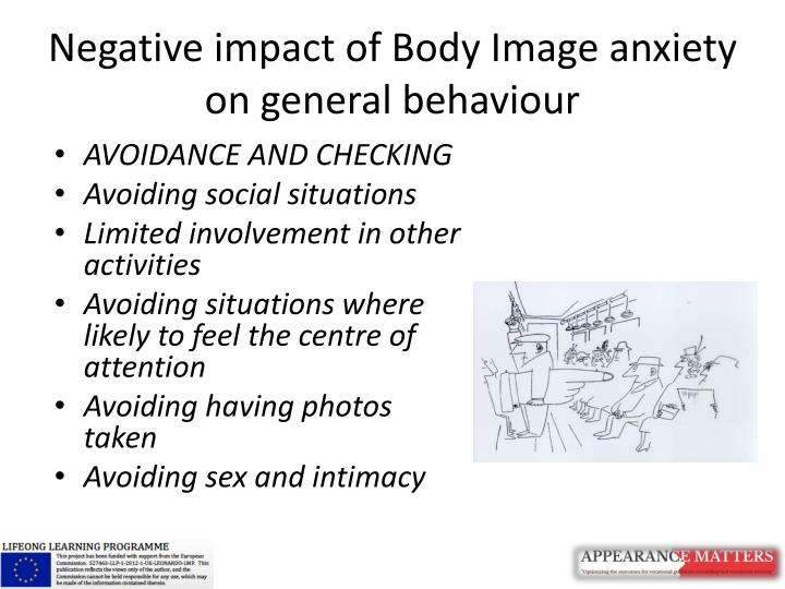 Negative impact of Body Image anxiety on general behaviour