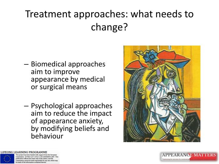 Treatment approaches: what needs to change?
