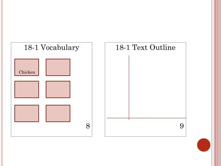 18-1 Vocabulary