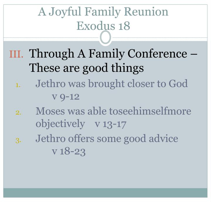 A Joyful Family Reunion