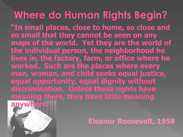 Where do Human Rights Begin?