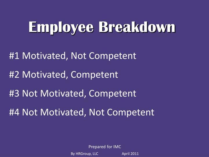 Employee Breakdown