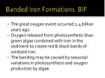 banded iron formations bif