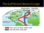 the gulf stream warms europe