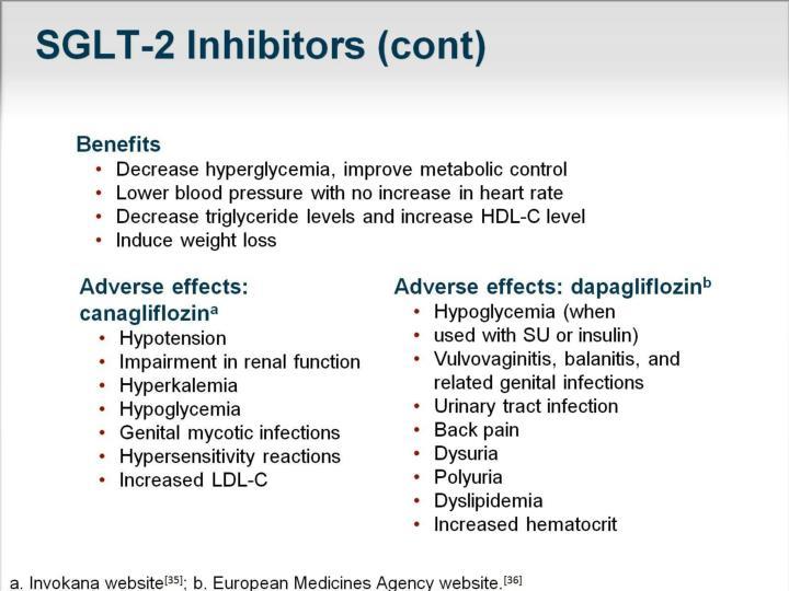 SGLT-2 Inhibitors (cont)