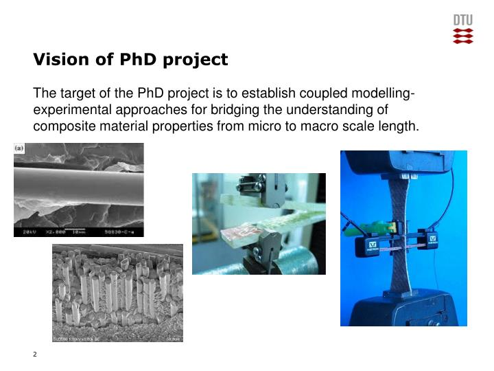 Vision of phd project