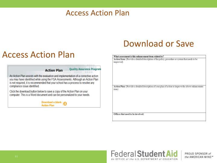 Access Action Plan