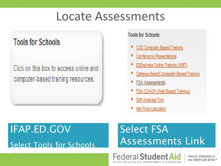 Locate Assessments