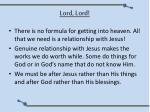 lord lord