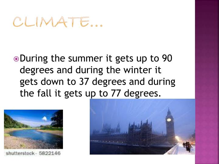 Climate…