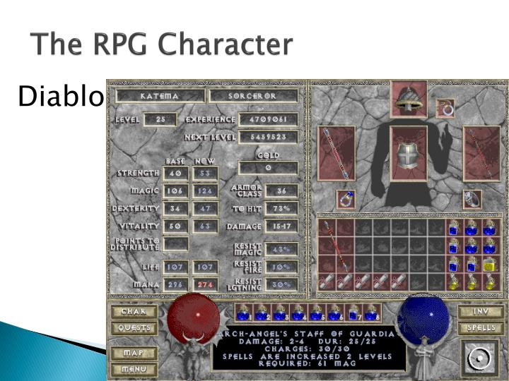 The RPG Character