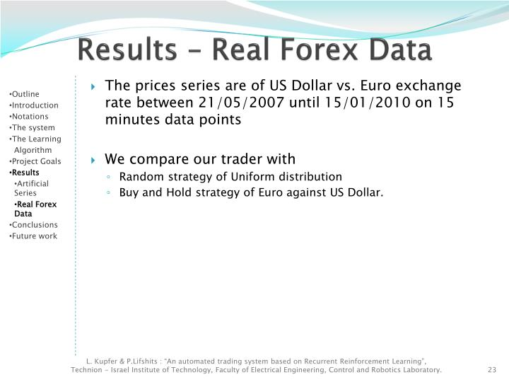 Free 1 minute forex data