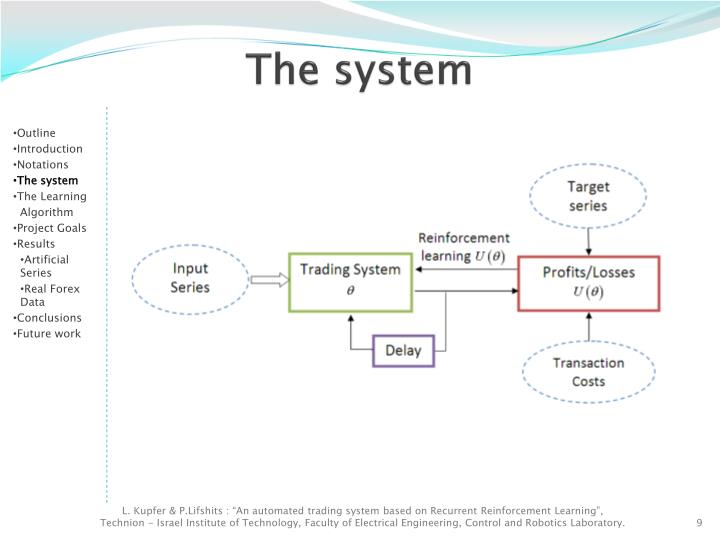 Systems and controls in an automated trading environment
