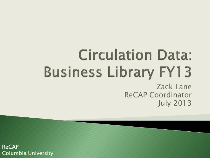 circulation data business library fy13