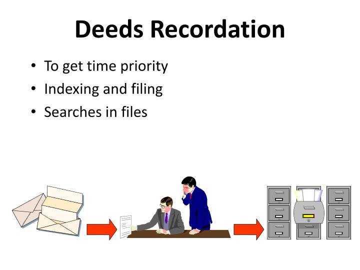 Deeds Recordation