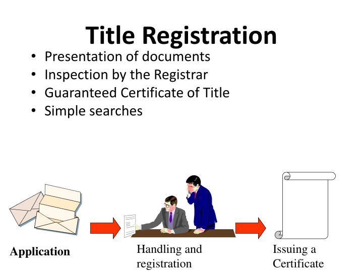 Handling and registration